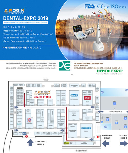 ROGIN Dental at Dental-Expo 2019 in Moscow