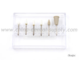 China Abrasive Material Dental Polishing Discs , Dental Silicone Stone Polishers kit supplier