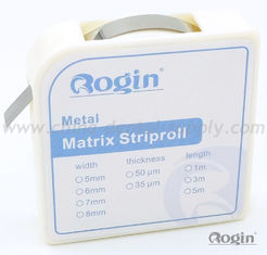 China Matrix Strips Roll Dental Matrix System 0.035mm and 0.05mm thickness supplier