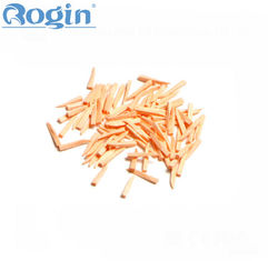 China Disposable Wooden Wedges Dental , Colorful Fixing Tooth Wedges In Dentistry supplier