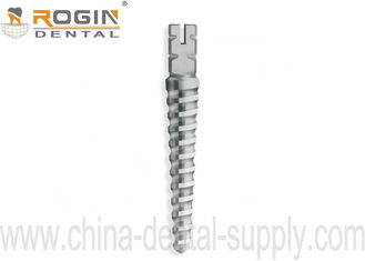 China Dental Screw Post With Tapered Titanium Material With CE / ISO / FDA Certifcates  For Dentist supplier