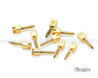 China Golden Plated Dental Screw Post / Pin in Bulk , tooth dental implant screw distributor