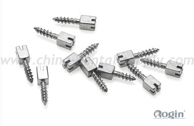 China Bulk Stainless Steel Dental Pins And Posts , Cosmetic Dental Implants distributor