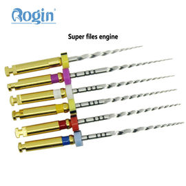 China NITI Alloy Material Protaper Rotary Files Endodontics , Root Canal Files factory