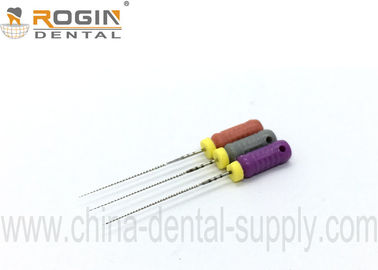 China ROGIN C Plus Dental Endo Files Square Cross Section For Cleaning Calcified Root Canals factory
