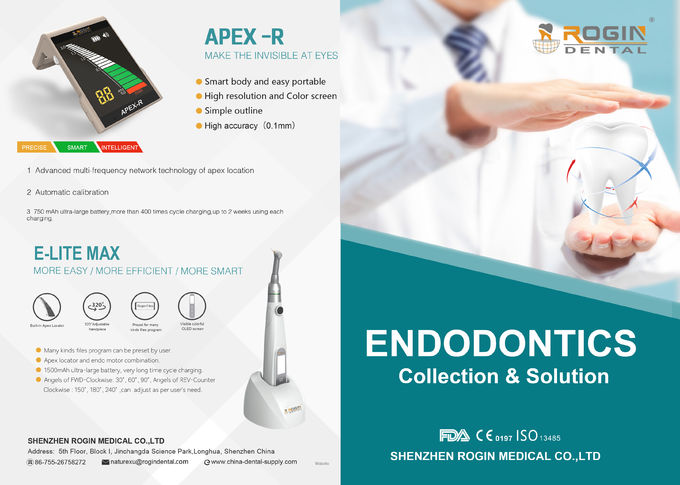Rotary Dental Instruments The Latest 2 in 1 Wireless Endo Motor With Apex Function For Dentist In Root Canal Treatment. 1